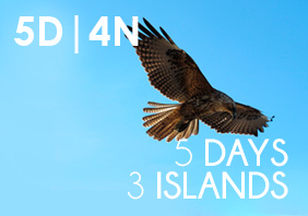 5 DAYS = 3 ISLANDS Tour (5 Day | 4 Night)